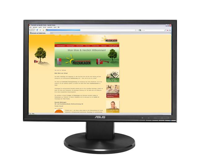 Webseite Mit Holz heizen